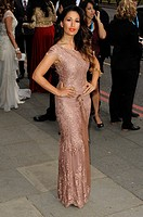 "Preeya Kalidas attends the """"The 5th Annual Asian Awards"""" at the Grosvenor House Hotel in London Credit: Euan Cherry/Photoshot."