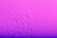 water drops on purple background