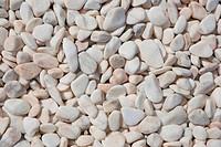 White stones