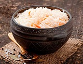 Sauerkraut with carrot