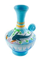 Greek ceramics vase