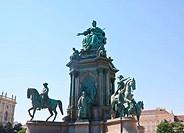Monument to Maria Theresa. Vienna. Austria