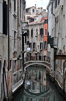 One of the streets of Venice.
