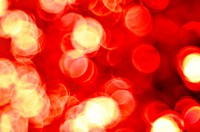 Red defocused lights background