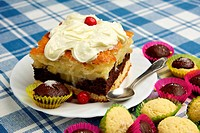 Pie and muffins