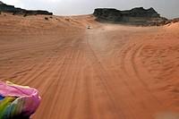 adventures in the desert of Jordan