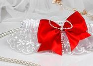wedding accessories on white