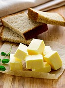 fresh yellow butter