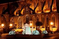 Wroclaw at night, Poland