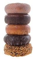 donut isolated on background