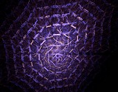 Lilac web fractal