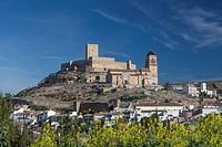 Alcaudete, town, Andalusia, Jaen, Landscape, Spain, Europe, Spring, architecture, castle, church, church, olive, colourful, no people, skyline, touris...