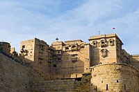 India, Rajasthan, Jaisalmer, local fort