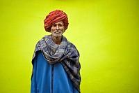 India, Rajasthan, Pushkar, portrait