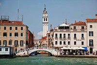 A view from the Grand Canal near San Marco Square; Venice, Italy
