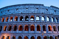 Colosseum, Rome, Italy, Europe.