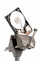 diagnostic and repair magnetic computer hard disk