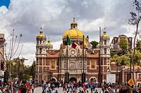 Old Basilica de Nuestra Señora de Guadalupe Mexico City Federal District DF North America.