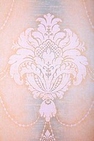 Vintage wallpaper background with beige vignette victorian patte