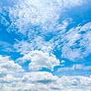 Blue sky with clouds,natural sky for background