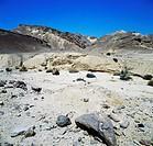 The surroundings of Metsad Nekarot, Makhtesh Ramon or the Ramon Crater, near the town of Mitzpe Ramon, Negev Desert, Israel.