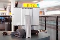 Terminal on boarding gate