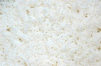 Background of cooked rice