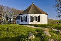 Chapel from village Vitt, Cape Arkona, Rügen, Mecklenburg-Vorpommern, Germany