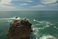 Nazare Cliff in Portugal