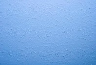 wall painted blue color