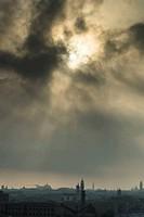 Venice Italy dark sun