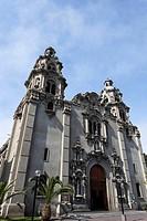 Virgen Milagrosa Church in Miraflores, Lima