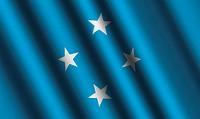 The Micronesia flag