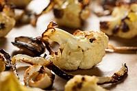 Roasted White Organic Cauliflower