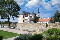 cloister gardens (UNESCO), Litomysl, Czech republic