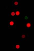 blured lights