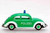 German police toycar