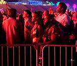 Rhianna dances in the crowd at Coachella whilst enjoying watching Drake perform Featuring: Rhianna Where: Los Angeles, California, United States When:...