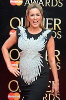2015 Olivier Awards held at the Royal Opera House - Arrivals Featuring: Claire Sweeney Where: London, United Kingdom When: 12 Apr 2015 Credit: WENN.co...