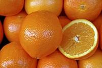 Fresh market oranges