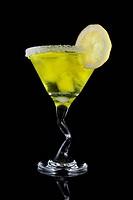 yellow martini drink