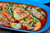 shrimp thai food