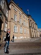 ceremonial guards outside The Amelienborg Palace,Copenhagen,Denmark.