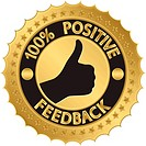 100 percent positive feedback golde