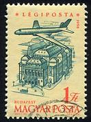 Plane over Budapest