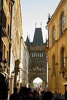 Easter tower, Prague, Czech Republic.