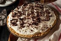 Homemade Black Bottom Cream Pie