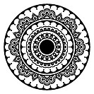 Mehndi, Indian Henna floral tattoo