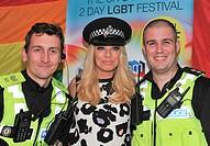 Birmingham Pride 2015 - Day 2 Featuring: Atomic Kitten, Liz McClarnon Where: Birmingham, United Kingdom When: 24 May 2015 Credit: Anthony Stanley/WENN...