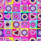 Hearts seamless pattern. Vector Illustration Background. Valent
